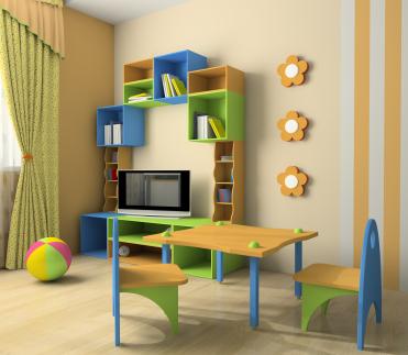 TV im Kinderzimmer © istock.com