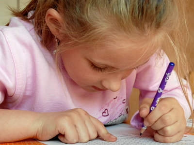 Hilfe, mein Kind schreibt mit links! © Harald07 - Fotolia.com