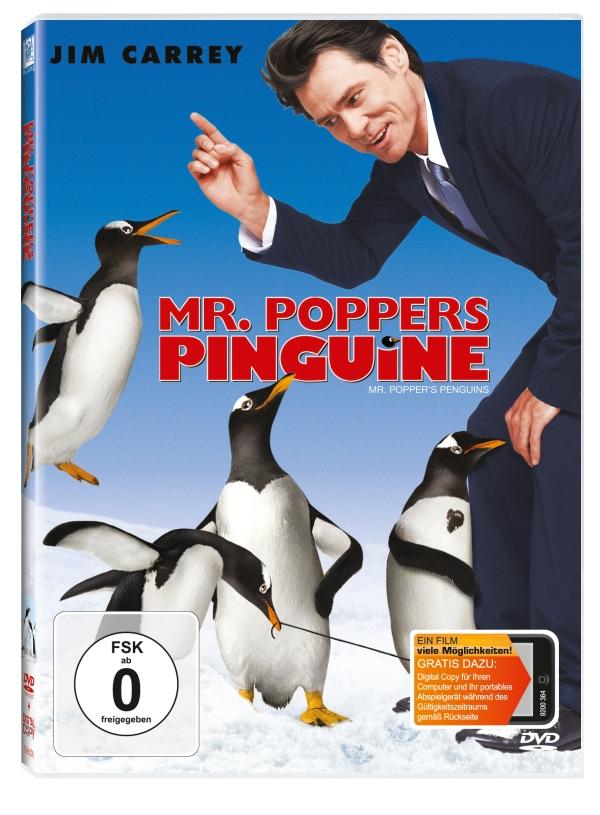 """Gewinnt zum Blu-ray und DVD-Start von """"Mr. Poppers Pinguine"""" ein tolles Pinguin-Handtuch"""
