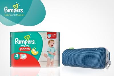 Mit den neuen Pampers Baby-Dry Pants wird das Windelnwechseln zum Kinderspiel