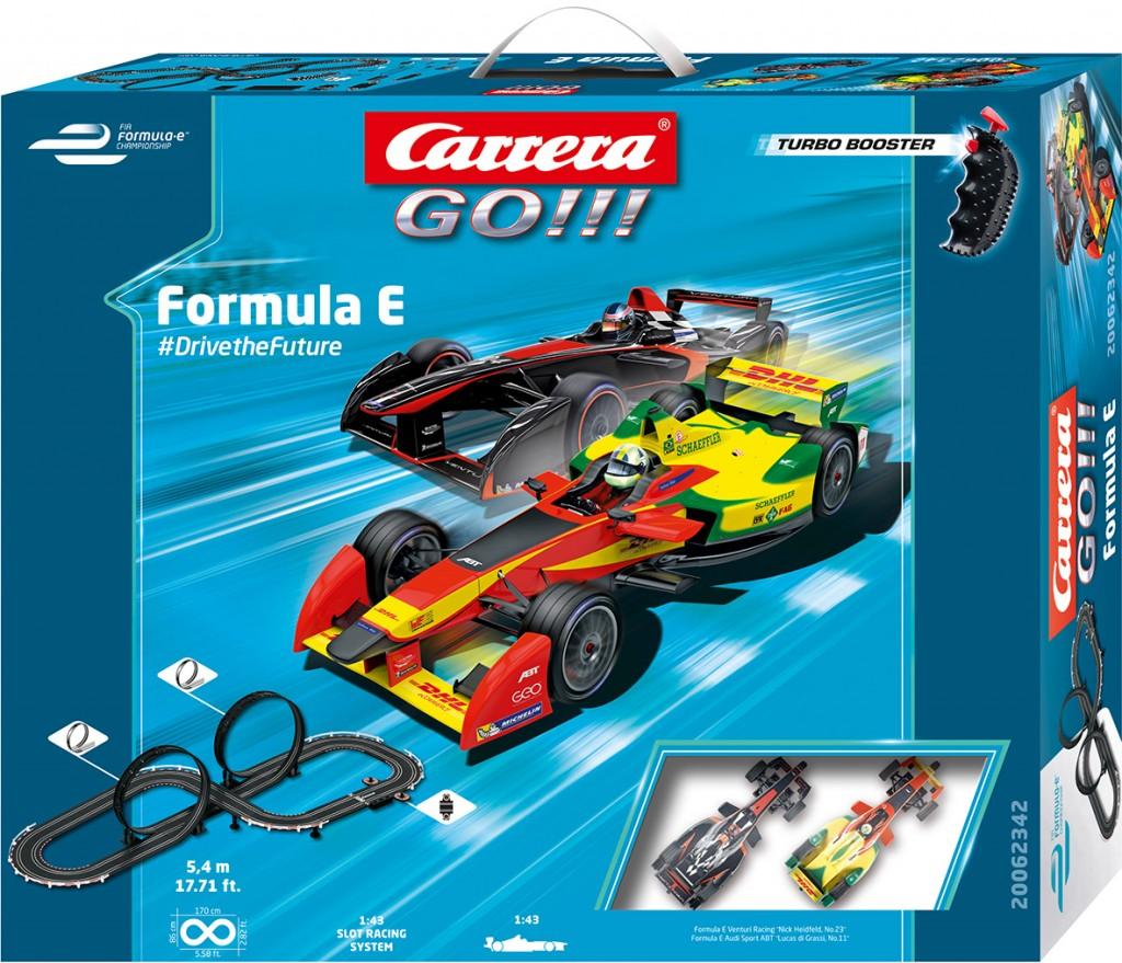 "Vollgas zu Ostern: Gewinnt das Set ""Carrera GO!!! Formula E #DrivetheFuture"""